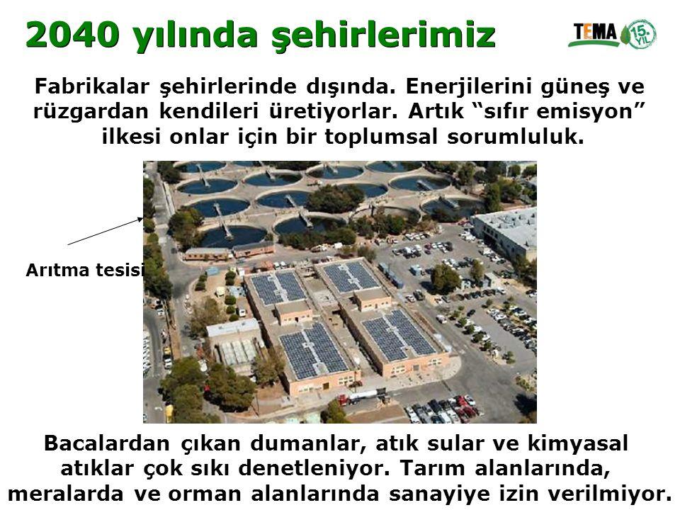 """Fabrikalar şehirlerinde dışında. Enerjilerini güneş ve rüzgardan kendileri üretiyorlar. Artık """"sıfır emisyon"""" ilkesi onlar için bir toplumsal sorumlul"""