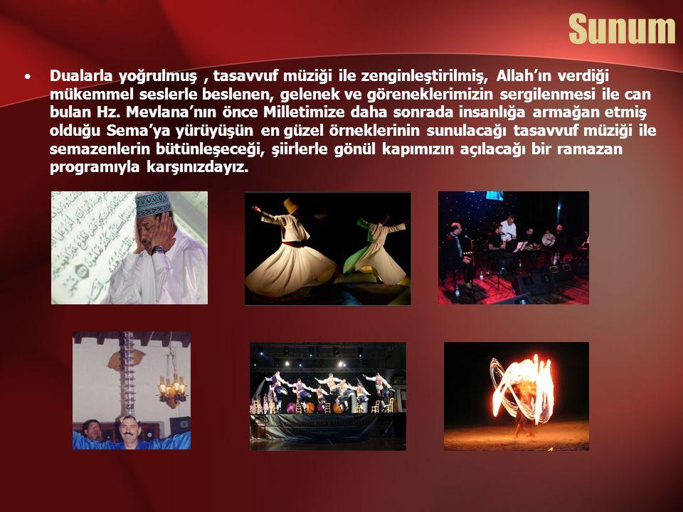 Program 1-EZAN ve KASİDELER Mahmut Toprak Hoca (Lefkoşa Selimiye Camii İmamı) •1979 Ankara da doğdu.
