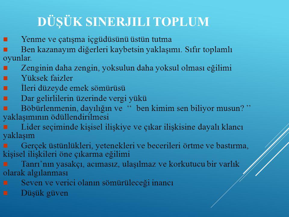 B-TÜRK TOPLUMU VE ÖZILETIŞIM Türk toplumunun daha çok yüksek bağlamlı bir iletişimi tercih etme eğiliminde olduğuna ilişkin çalışmalarda çeşitli atıflara rastlamak mümkündür.