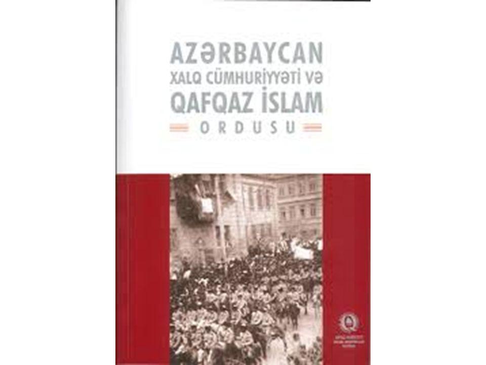 1918 yılında Nuri Paşa ile çektirdiği resim yüzünden 1937 kırımında idam edilen Müseyyip Muharremov..