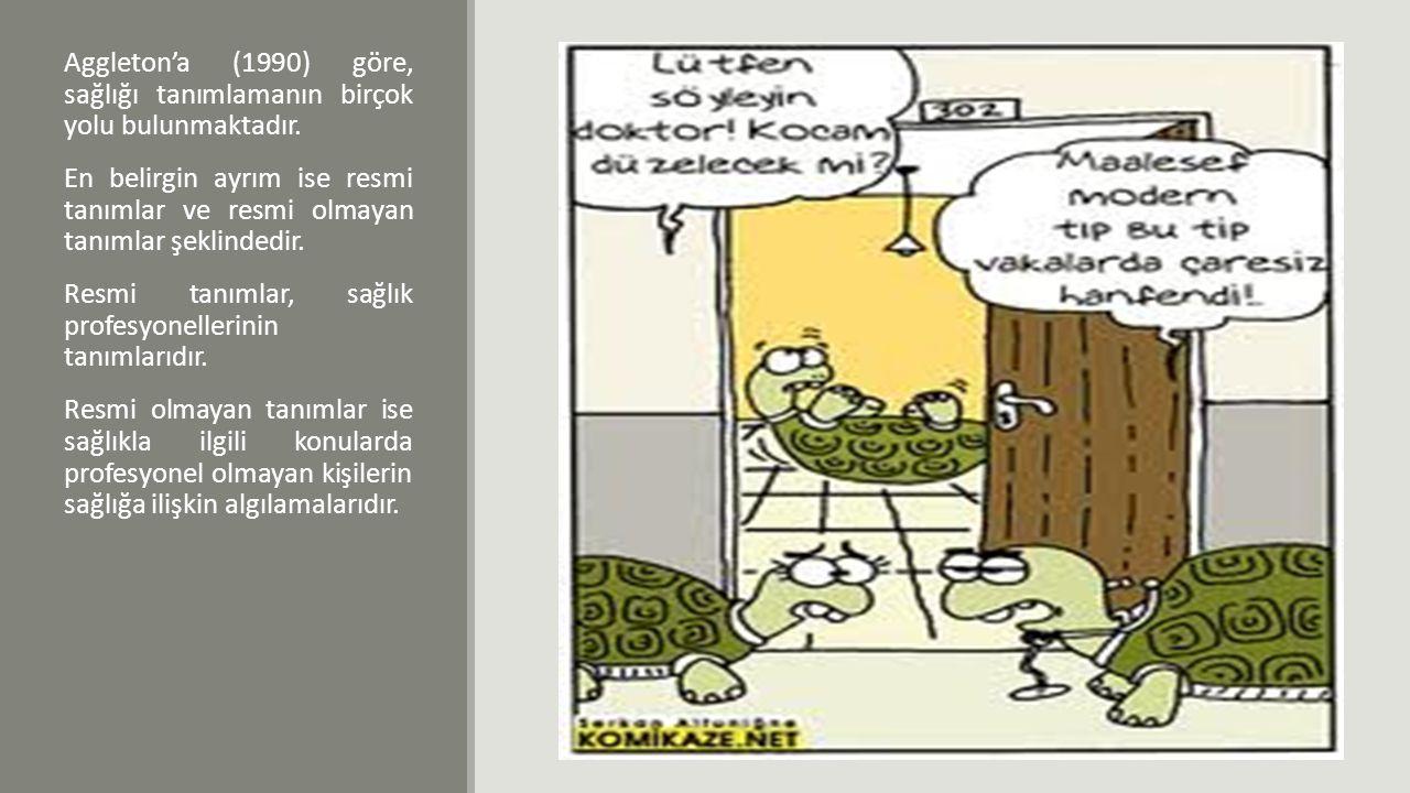 SAĞLIK KAVRAMININ AÇIKLANMASINA YÖNELİK MODELLER 1.