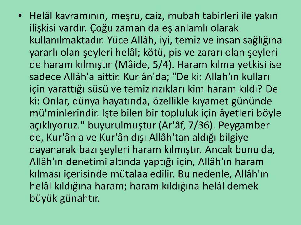«Haram» ne demektir.