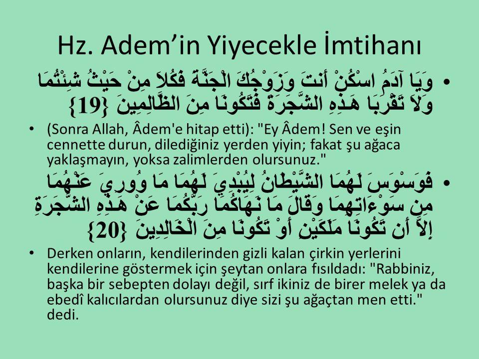 Helal Lokma Hassasiyeti •Hazreti Ebu Bekir, yemeğini getiren hizmetçisine, her defasında onu nereden getirdiğini ve hangi yolla tedarik ettiğini sorardı.