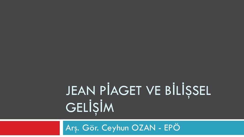 2.Piaget`nin Kuramındaki Temel Kavramlar  a.