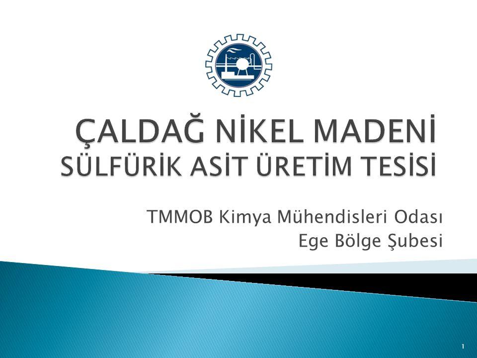 TMMOB Kimya Mühendisleri Odası Ege Bölge Şubesi 1