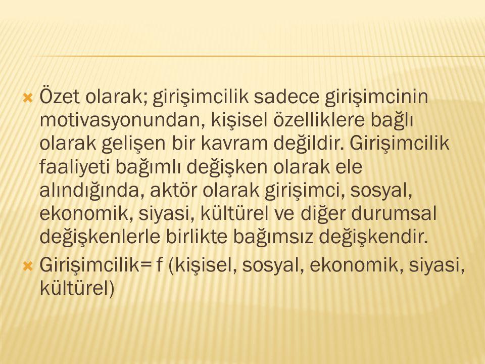  İstanbul Sanayi Odasının yapmış olduğu Ekonomik Durum Tespiti Anket çalışması sonuçlarına göre;  - Varlıkları içinde özkaynak oranı % 71 den fazla olan işletmelerin sayısı:  Küçük ölçekli işletmelerde % 51.2  Orta ölçekli işletmelerde % 37.8  Büyük ölçekli işletmelerde % 22.2  - Varlıkları içinde öz kaynak oranı % 90 dan fazla olan işletmelerin sayısı:  Küçük ölçekli işletmelerde % 29.9  Orta ölçekli işletmelerde % 16.9  Büyük ölçekli işletmelerde % 8.7  Görüldüğü gibi küçük ve orta ölçekli işletmelerin büyük bölümü hayatiyetlerini özkaynaklarıyla devam ettirmeye çalışmaktadırlar.