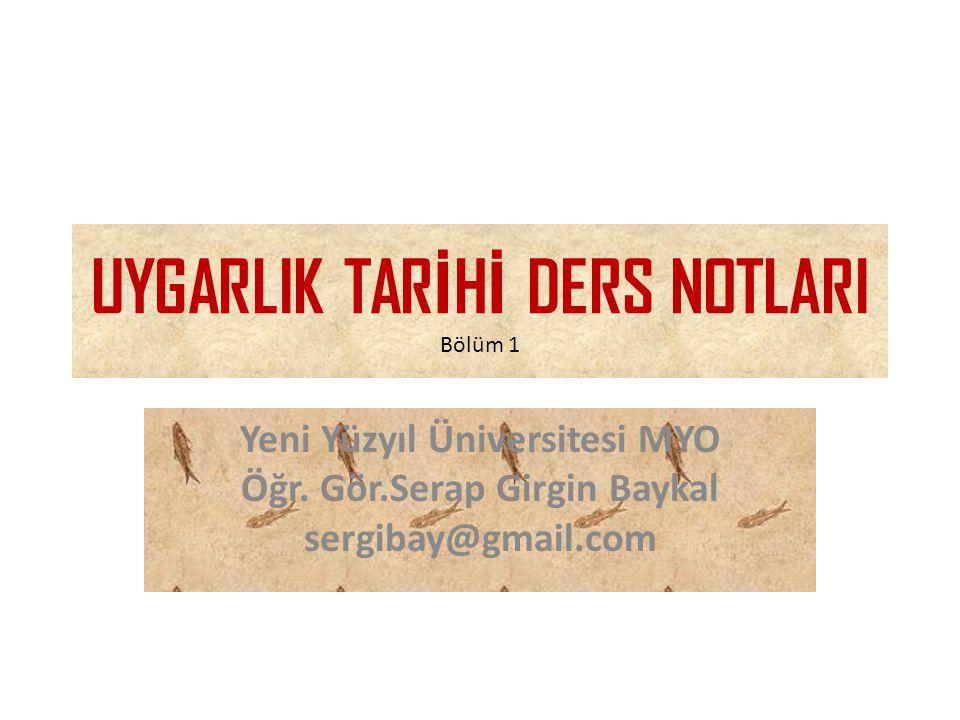 UYGARLIK – Ud-mak (uy-mak) • Uygarlık kelimesi nereden türemiştir.