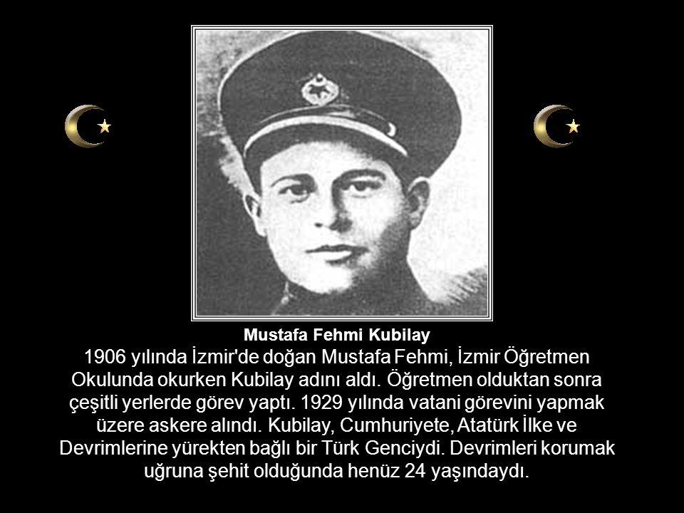 Menemen ve Kubilay olayı asla unutulmaması ve unutturulmaması gereken bir vahşettir. Türkiye'yi tarihin yobaz karanlıklarına geri götürmek isteyen tüm