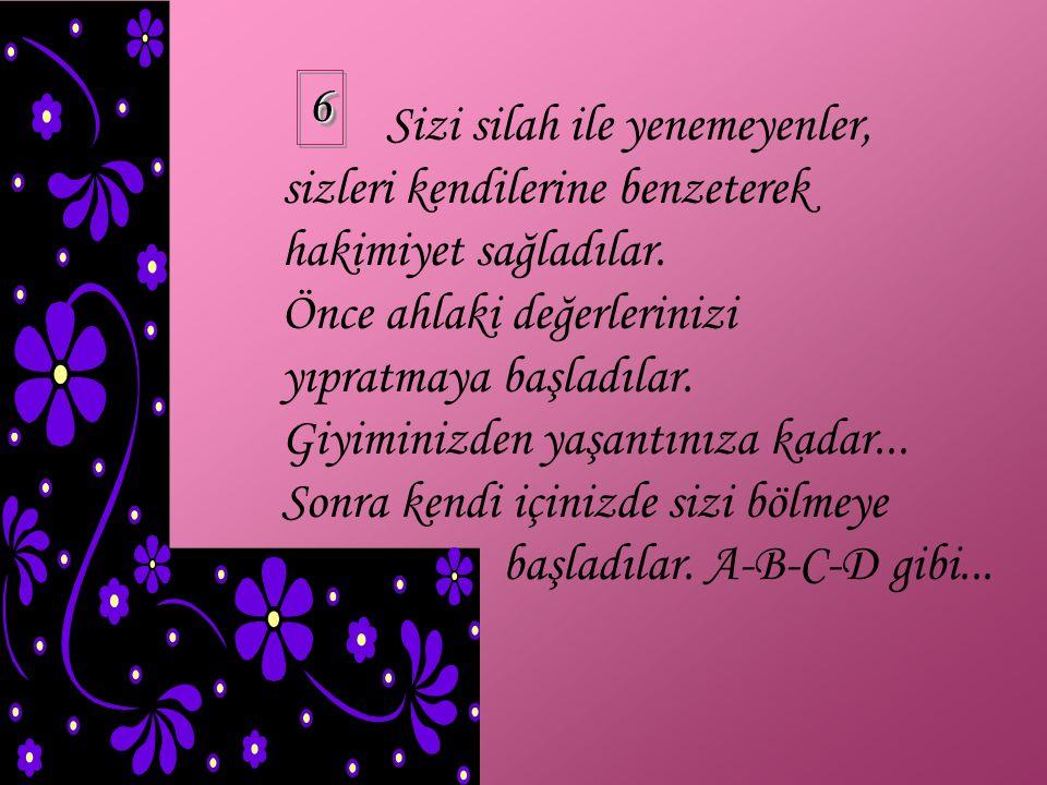 Selçuklular Anadolu yu, Osmanlılar ise orta Avrupa ve Balkanları Haçlı ordusuna mezar ettiler. 55
