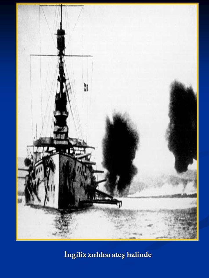 Majestik zırhlısı batarken (27 mayıs 1915)
