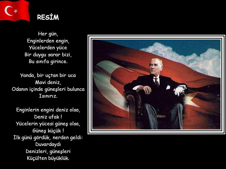 Ey Türk Gençliği ! Birinci vazifen, Türk istiklalini, Türk Cumhuriyetini, ilelebet, muhafaza ve müdafaa etmektir. Mevcudiyetinin ve istikbalinin yegan