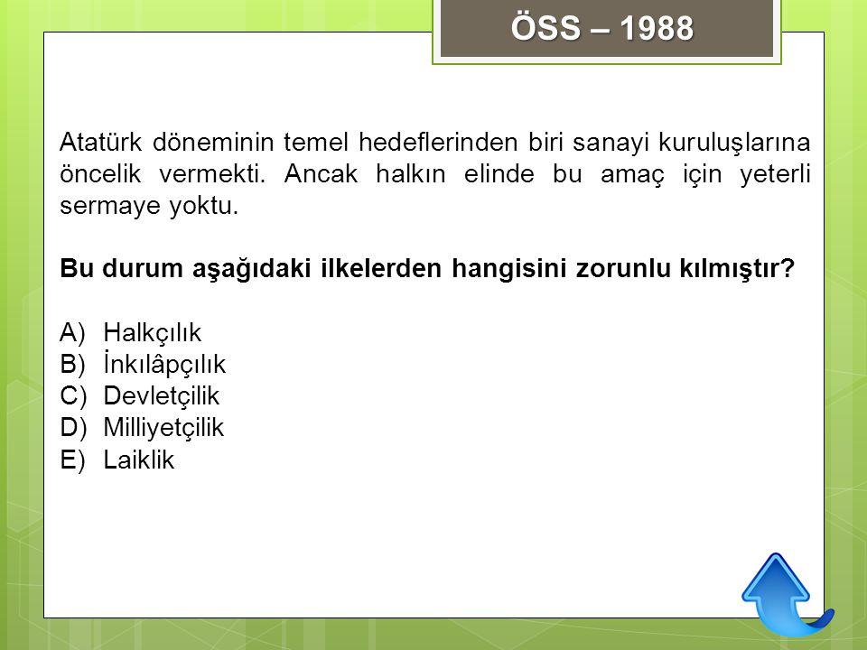 Atatürk döneminin temel hedeflerinden biri sanayi kuruluşlarına öncelik vermekti. Ancak halkın elinde bu amaç için yeterli sermaye yoktu. Bu durum aşa