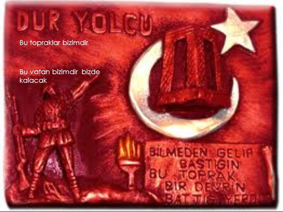 Hakkımız helal olsun bizim için vatanı için savaşan şehit olan Mehmetçiklere