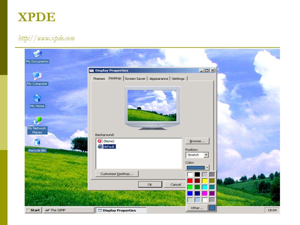 XPDE http://www.xpde.com