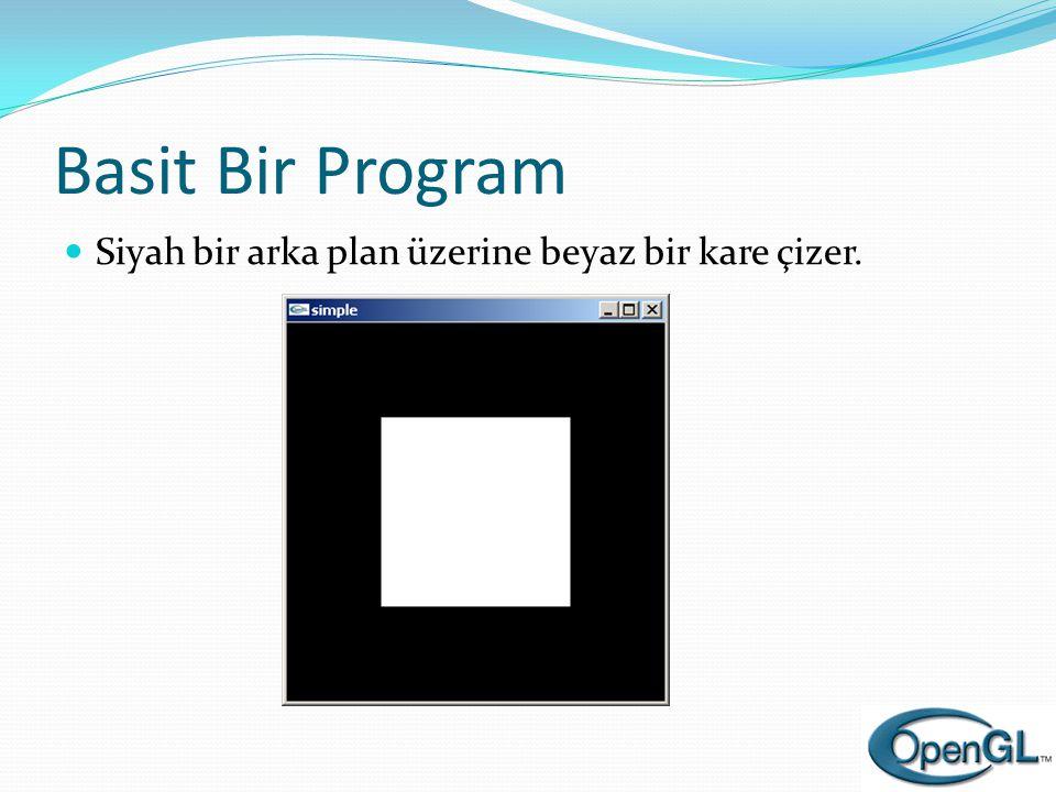 Piksel-tabanlı ilkeller  Bitmap  Her piksel için 1 bit bilgi kullanılır.