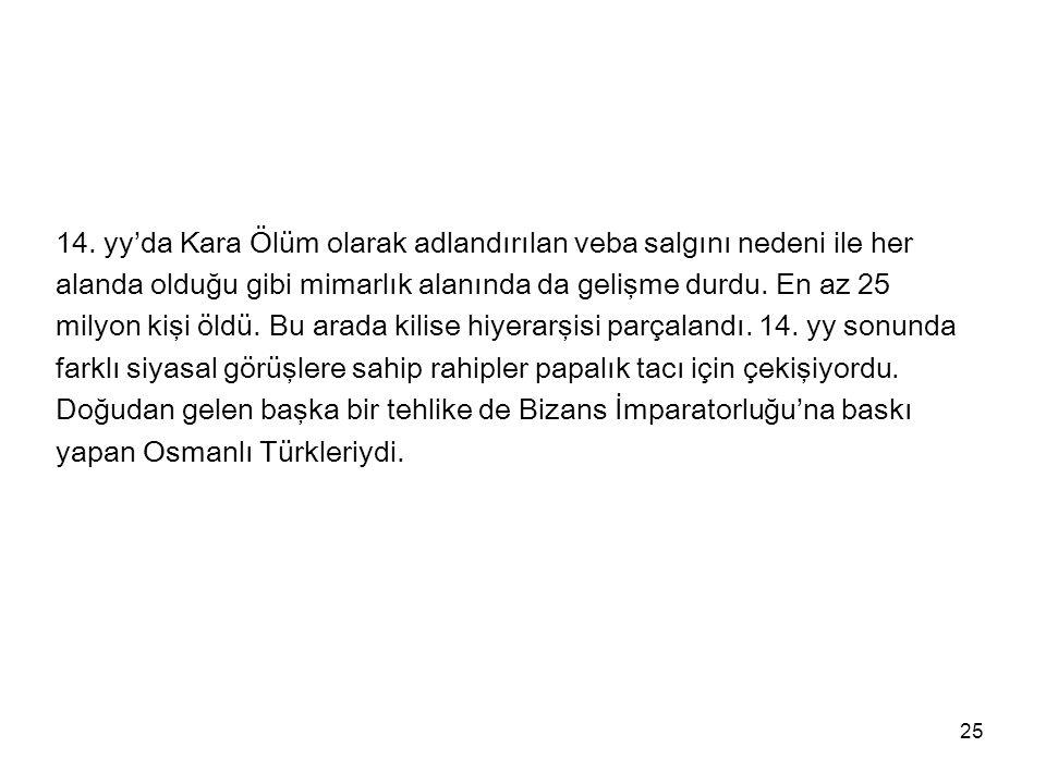 26 1453'de Konstantinopolis Osmanlı tarafından alındı.