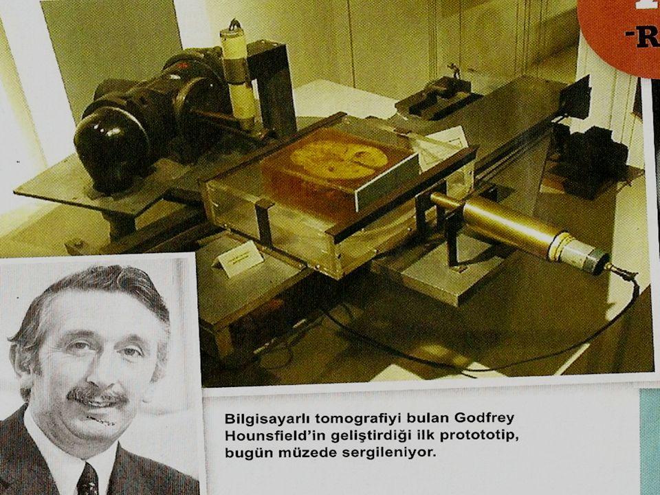 Tanım: Tomografi vücuttan kesit şeklinde görüntü almaktır.