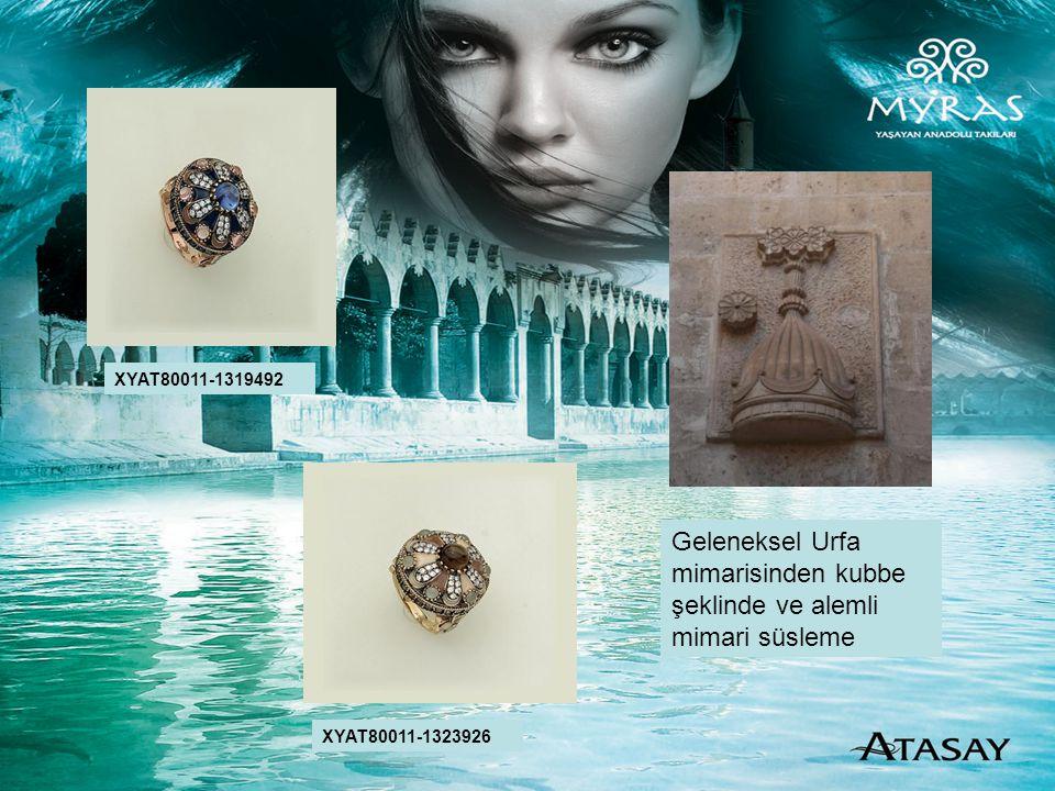 Geleneksel Urfa mimarisinden kubbe şeklinde ve alemli mimari süsleme XYAT80011-1319492 XYAT80011-1323926