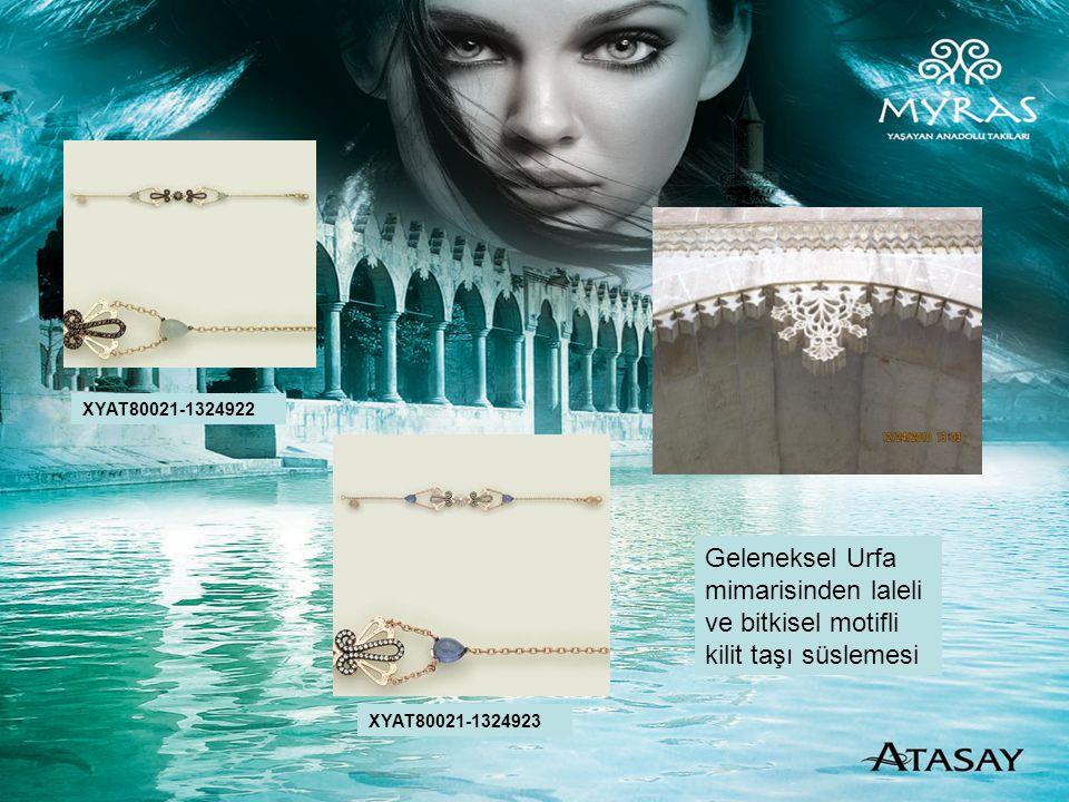 XYAT80021-1324922 XYAT80021-1324923 Geleneksel Urfa mimarisinden laleli ve bitkisel motifli kilit taşı süslemesi