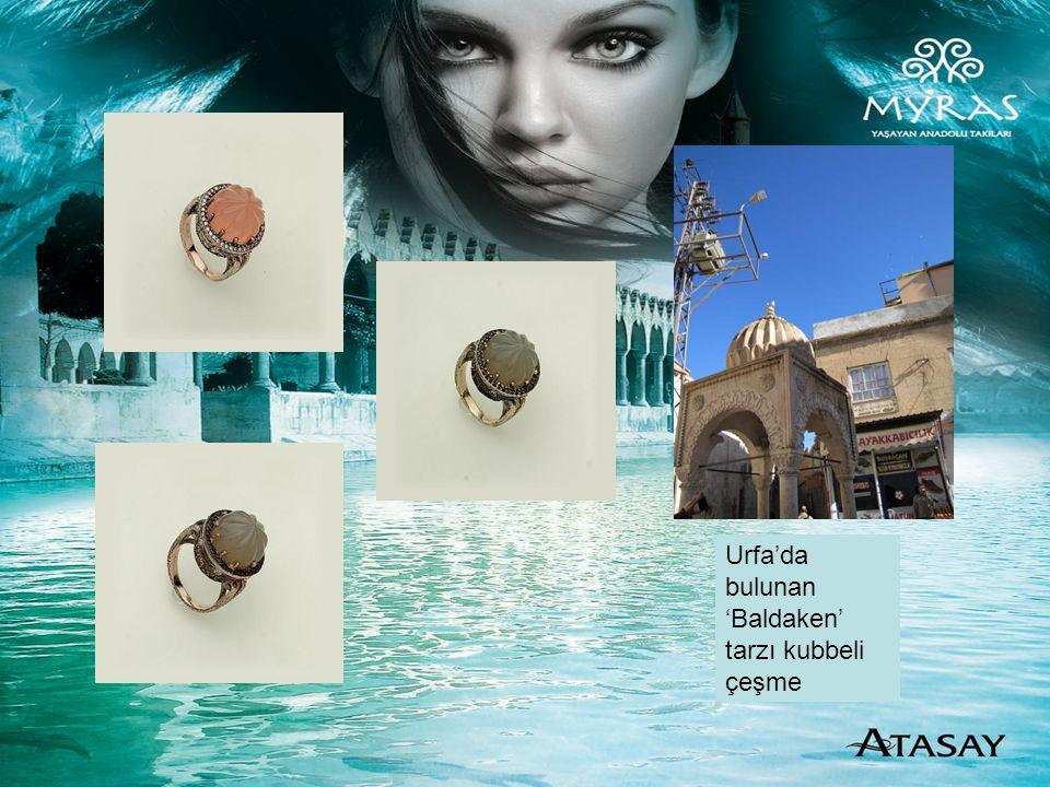 Urfa'da bulunan 'Baldaken' tarzı kubbeli çeşme