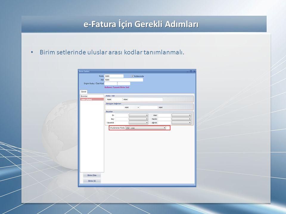 e-Fatura Uygulama Adımları e-Fatura Uygulama Adımları • İlgili fatura üzerinde sağ click e-Fatura oluşturma seçeneğiyle ilgili dosya (xml) oluşturulur eğer imzalama işlemi program tarafından yapılacak ise aynı anda dosya imzalanır (bu işlem ortalama 3-5 sn sürebilir).