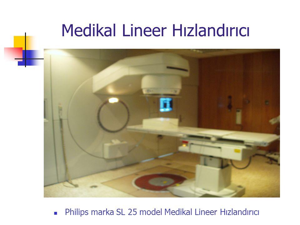  Philips marka SL 25 model Medikal Lineer Hızlandırıcı Medikal Lineer Hızlandırıcı