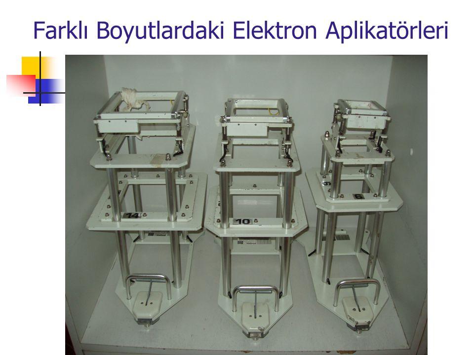 Farklı Boyutlardaki Elektron Aplikatörleri