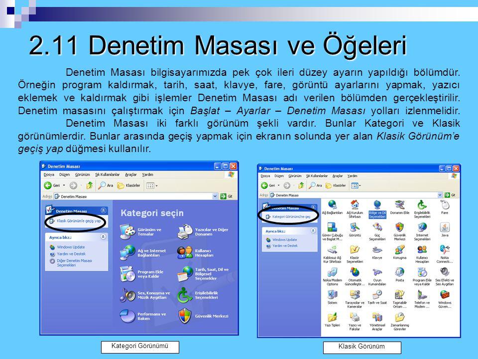 Windows Gezgini'nde Dosya ve Klasör Seçme İşlemleri Sıralı dosya ve klasörleri seçmek: Bir klasör ve dosya seçildikten sonra klavyeden Shift tuşuna ba