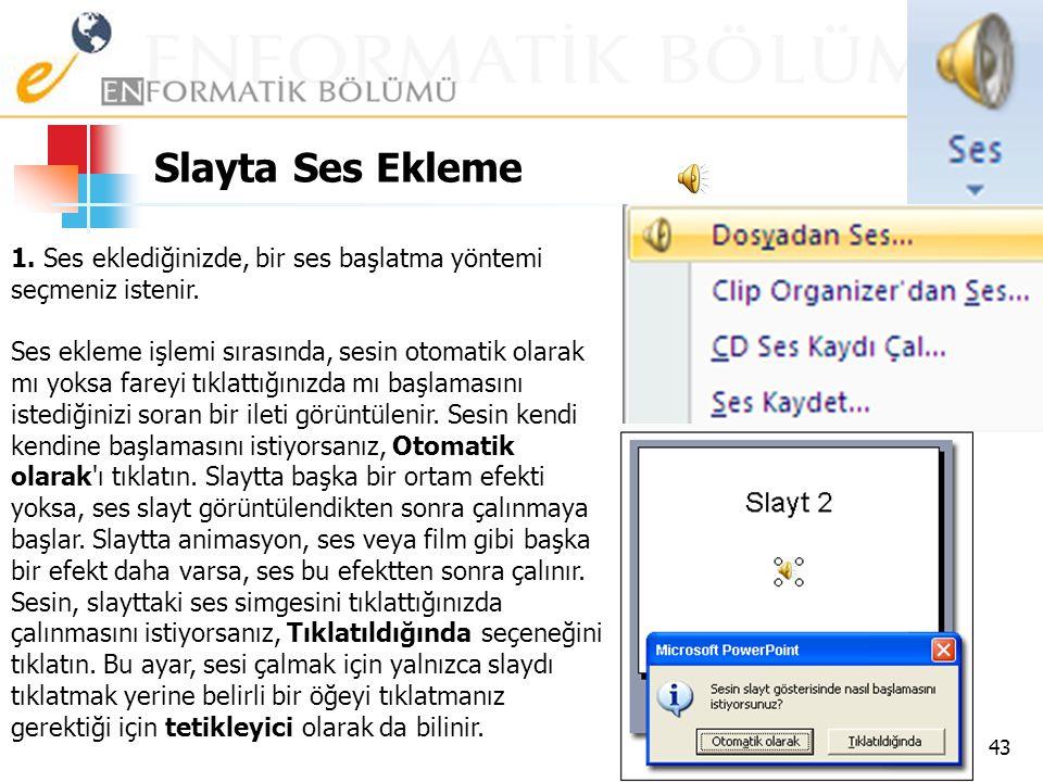 WordArt Ekleme 42
