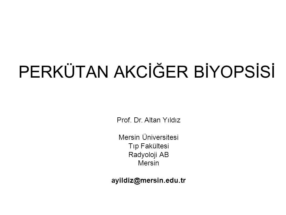 PERKÜTAN AKCİĞER BİYOPSİSİ Prof.Dr.