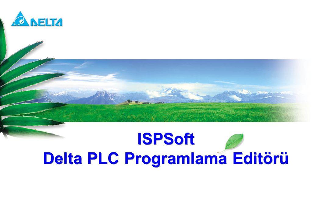 ISPSoft Delta PLC Programlama Editörü ISPSoft Delta PLC Programlama Editörü
