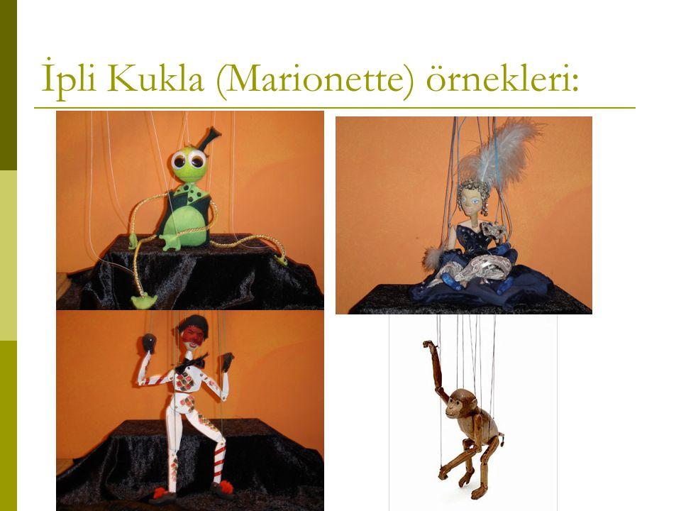 İpli Kukla (Marionette) örnekleri: