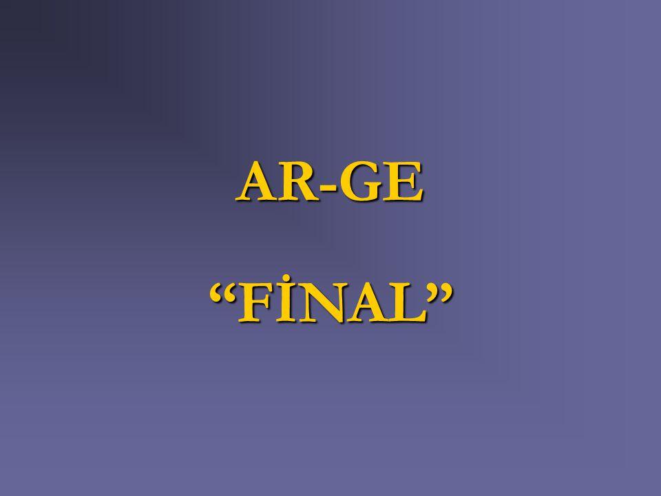 "AR-GE ""FİNAL"""