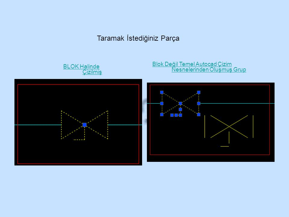 Filtre Ayarları Tarayıcıların filtre bölümleri arasında küçük farklılıklar olmasına rağmen benzerdir.