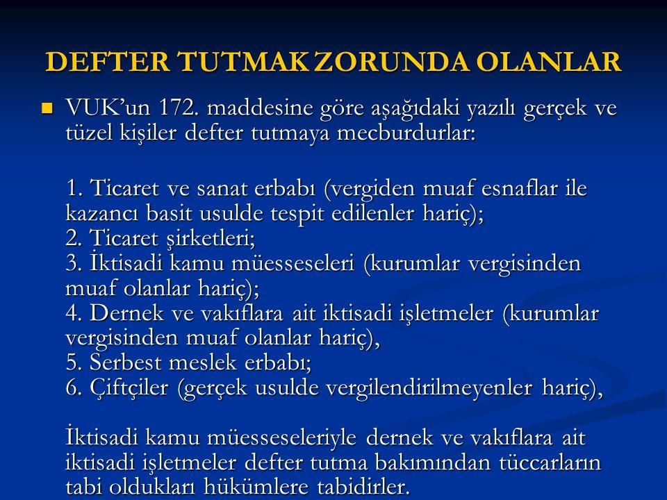2006 HESAP DÖNEMİNDE ÖRTÜLÜ KAZANÇ MÜESSESESİ GEÇERLİ Mİ.