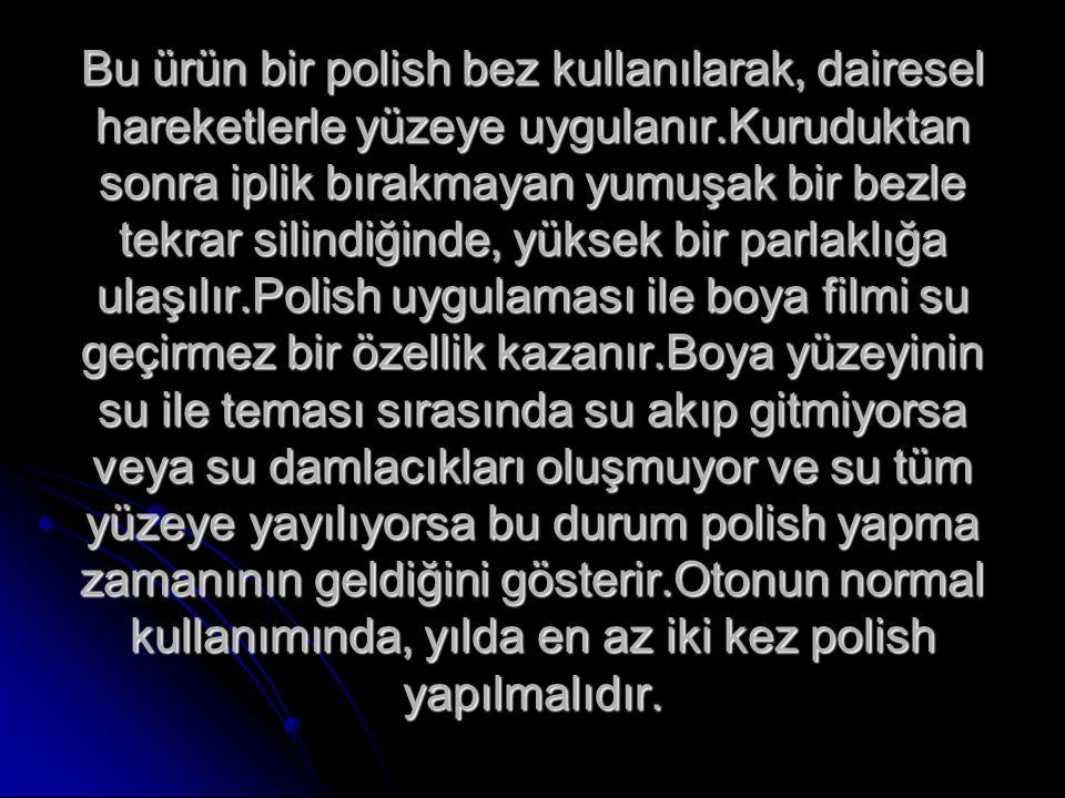 Polish - Wax Koruma Ürünleri