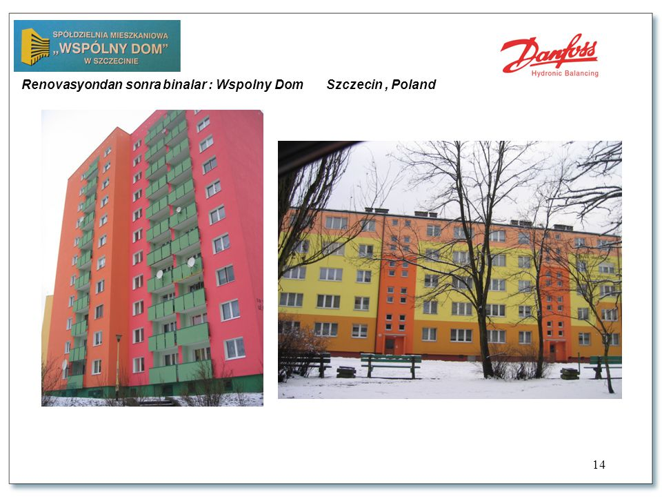 14 Renovasyondan sonra binalar : Wspolny Dom Szczecin, Poland