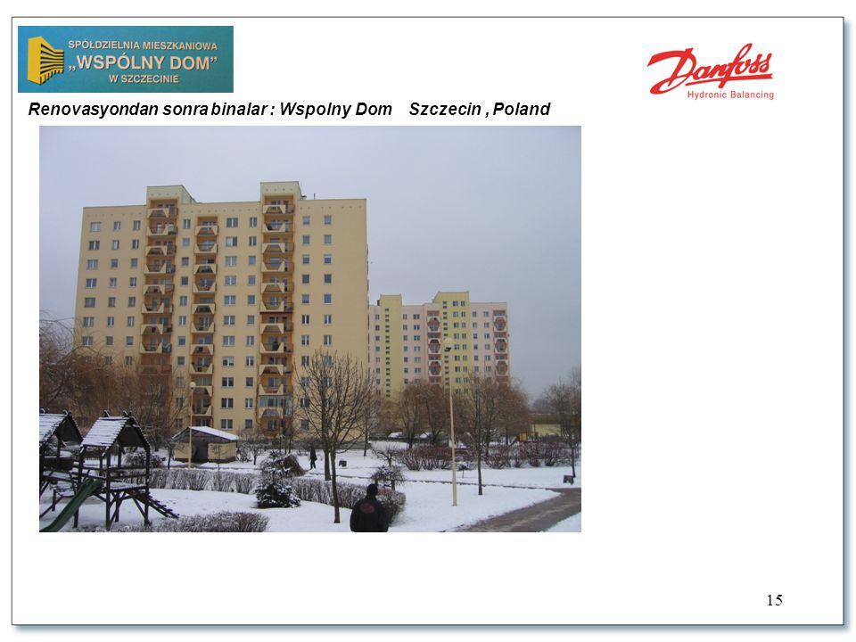 15 Renovasyondan sonra binalar : Wspolny Dom Szczecin, Poland