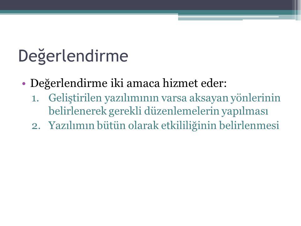 Kaynaklar •Özdemir, S., Atasoy, B.ve Somyürek, S.