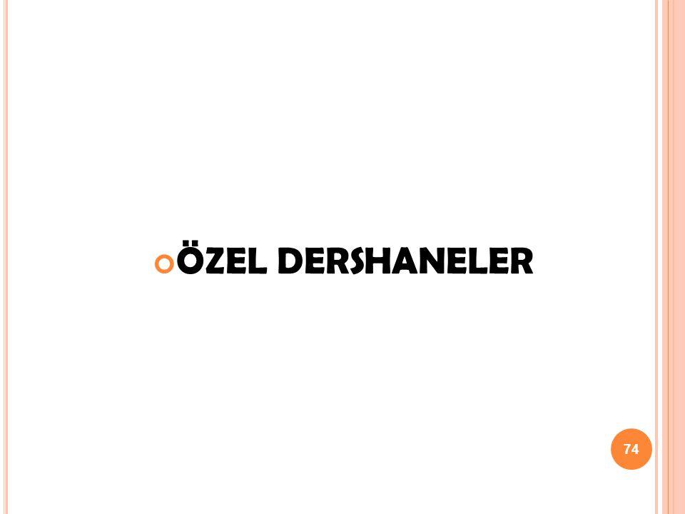 ÖZEL DERSHANELER 74