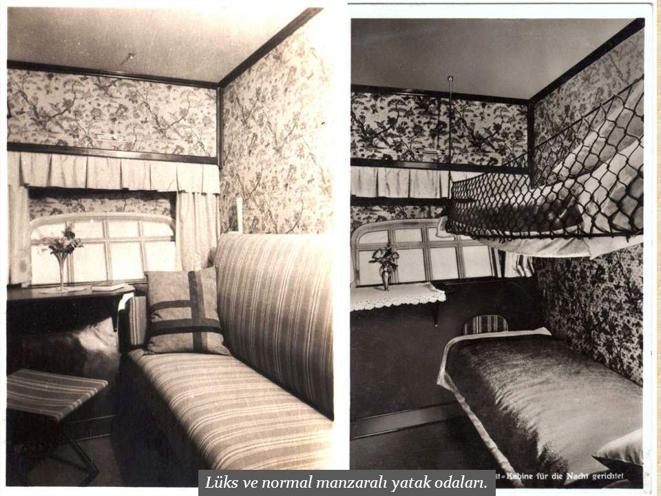 Lüks ve normal manzaralı yatak odaları.