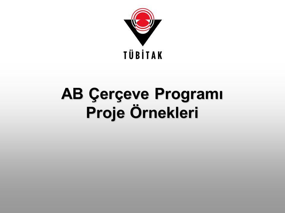 AB Çerçeve Programı Proje Örnekleri