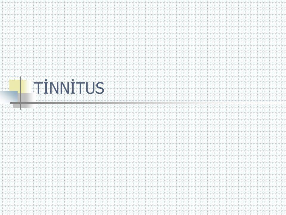 TİNNİTUS