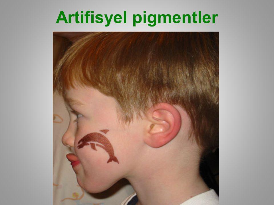 Artifisyel pigmentler