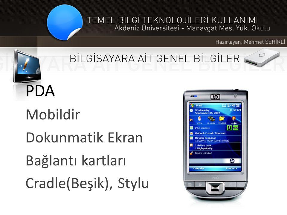 PDA Mobildir Dokunmatik Ekran Bağlantı kartları Cradle(Beşik), Stylus