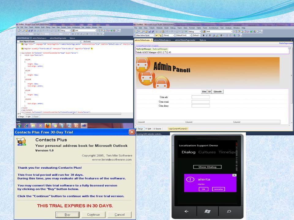 Destek Araçları Programlama Düzeyleri  Pencereleme sistemi  Aygıt bağımsızlığı  Birden çok görev  Uygulama programlama paradigmaları  Okuma-değerlendirme döngüsü(read-evaluation loop)  Bildirim tabanlı(notification-based)  Araç kitleri(Toolkits)  Etkileşim nesneleri programlama  UIMS  Ayrılık için kavramsal mimarileri  Diyalog ifade etmek için teknikler