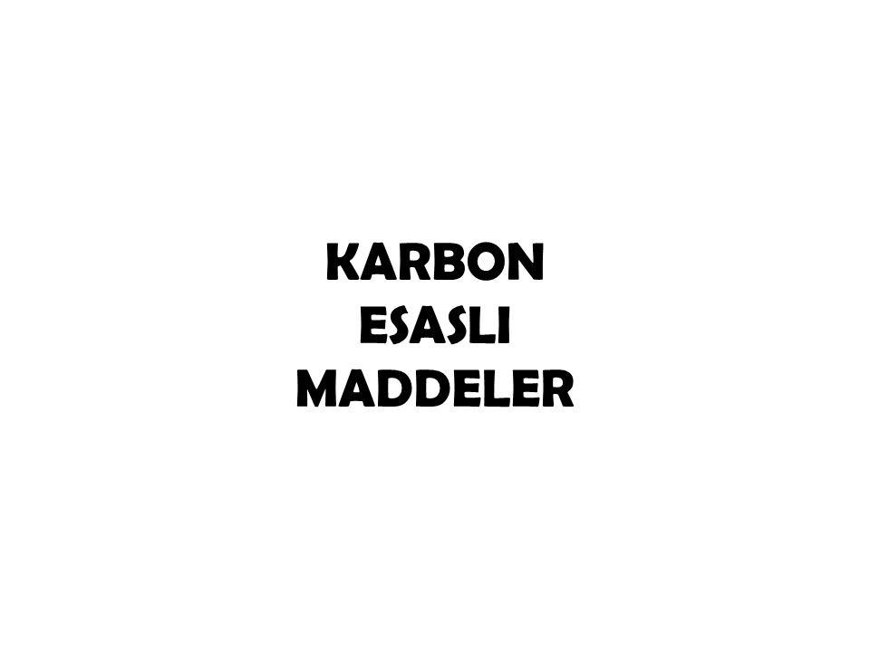 KARBONUN ÖNEMİ Yerkabu ğ u ndan, bitki örtüsüne ve denizlerden atmosfere kadar, her yerde Karbon yada bile ş iklerini görmek mümkündür.