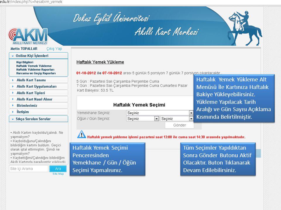 Açılan Sayfada Seçim Bilgileri.Görüntülenecektir Açılan Sayfada Seçim Bilgileri.