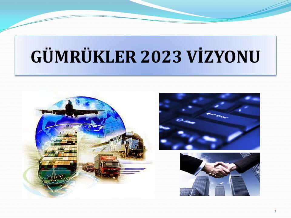 GÜMRÜKLER 2023 VİZYONU 1
