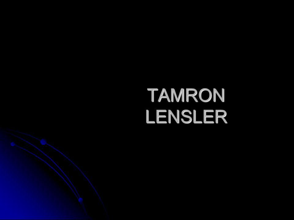 TAMRON LENSLER